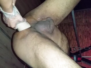 British indian anal fisting and toys with mistress