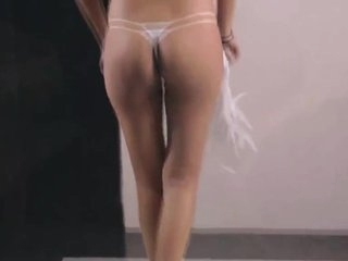 Crazy Indian, Striptease sex video