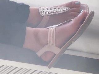 Sexy indian sandal flex