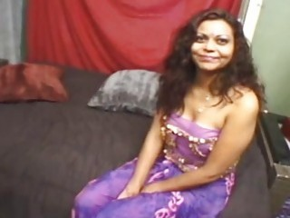 Fugly Indian babe is in need of giant fuck stick