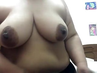 Mature Aunty Stripping Naked