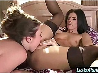 (elektra&india) Lez Girl Get Sex Toys Punish By Mean Lesbian video-19