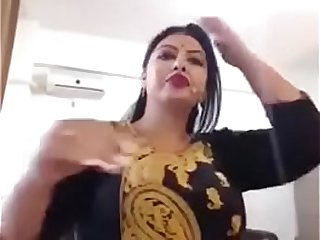 Big boobs Indian model on web cam
