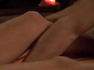 Couple enjoy a sensual erotic massage