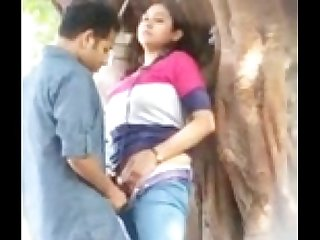 Desperate Indian Lovers - Public Sex
