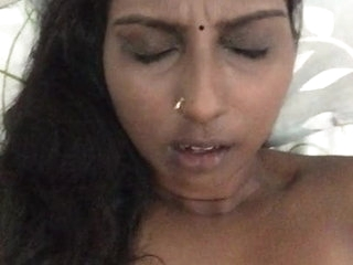 indian NRI black bigg boobs bhabhi 1