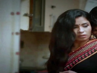 Very beautiful Indian housewife fucking her husband's boss