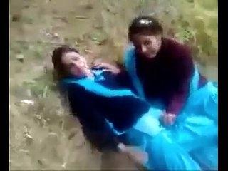 School Girls Fun together