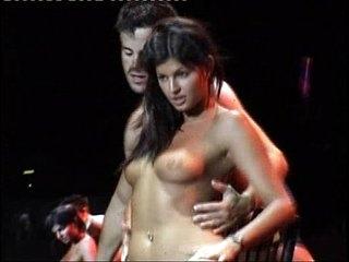 Teen Stripper Lucie Theodorova  - Live Sex Show