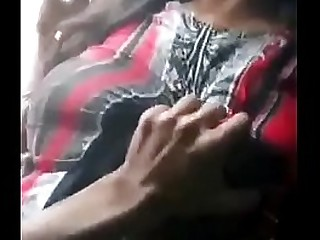 Desi huge boobs stepmom with boy