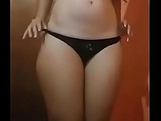 Desi girl dance ass show