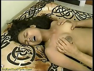 extreme hairy bush indian chick gives a deepthroat blowjob