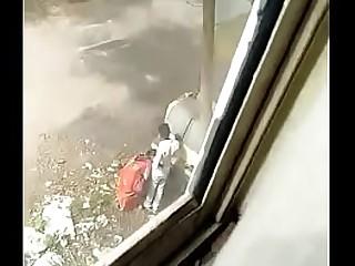Indian Bhabhi Outdoor with stranger