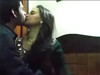 Indian Bhabhi Sonia Passionate Romantic Kissing In Bedroom Before Hot Fuck