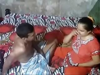 Indian woman takes teen cock