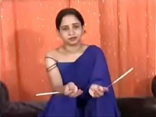 NEW indian bhabhi putting wax all over her body hindi audio