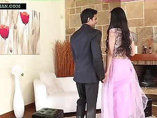 Indian guy fucked ass and pussy of Chinese whore