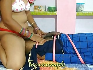 Indian hot rich women HARD SEX with tied-up servant.