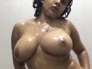 Anjali Rai Sexy Shower At Home
