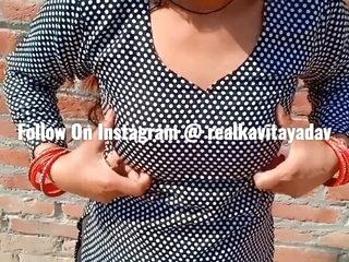 Indian Desi Kavita Wife Fucked In Salwar Dress With Devar