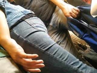Hot Indian Girl groping Ass
