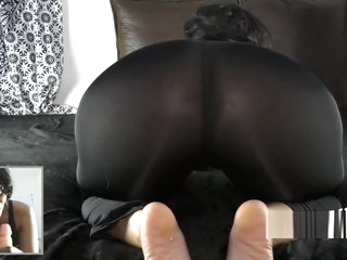 Big ass South Indian girl giving JOI in Hindi